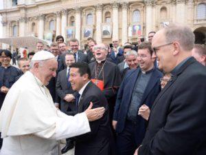 De Colombiaanse priesterstudent